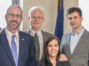 photo of Marc Gronich with other people in Albany