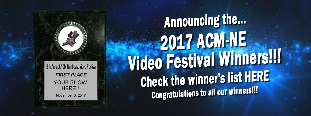 2017 Video Festival Winners!
