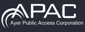 logo for the public access center in Ayer Massachusetts