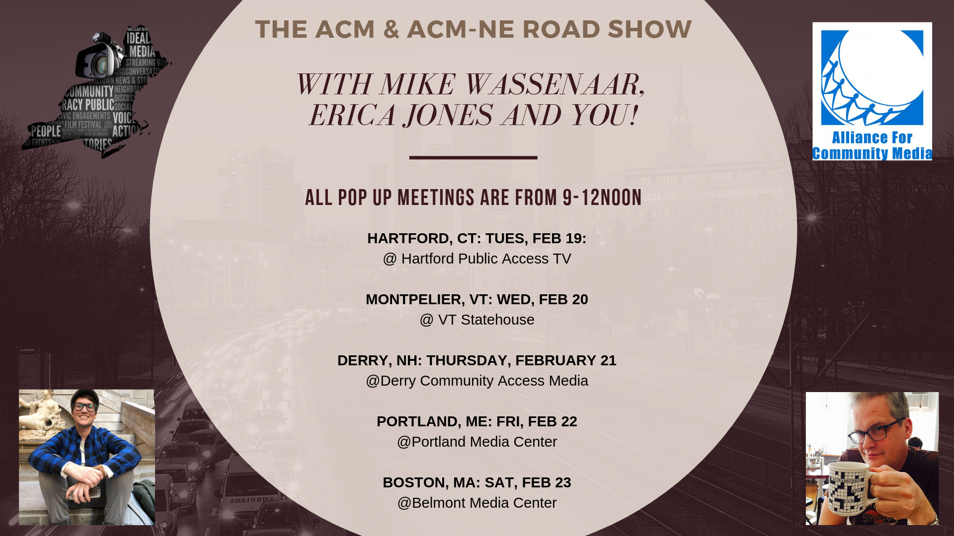 "The ACM & ACM-NE ""Road Show"""
